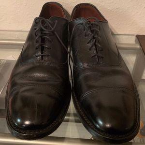 Allen Edmonds Black Cap Toe Oxfords